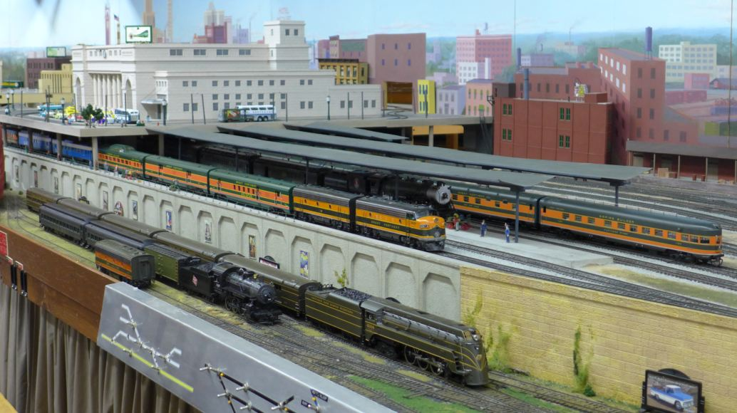 Honda Dealers Seattle >> Model Train Exhibit