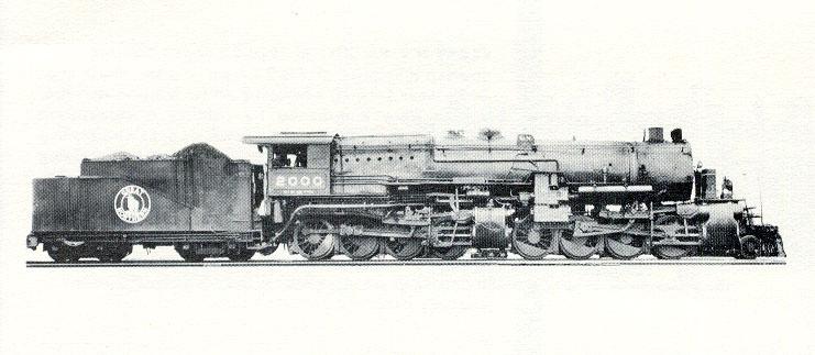 GN Steam Locos